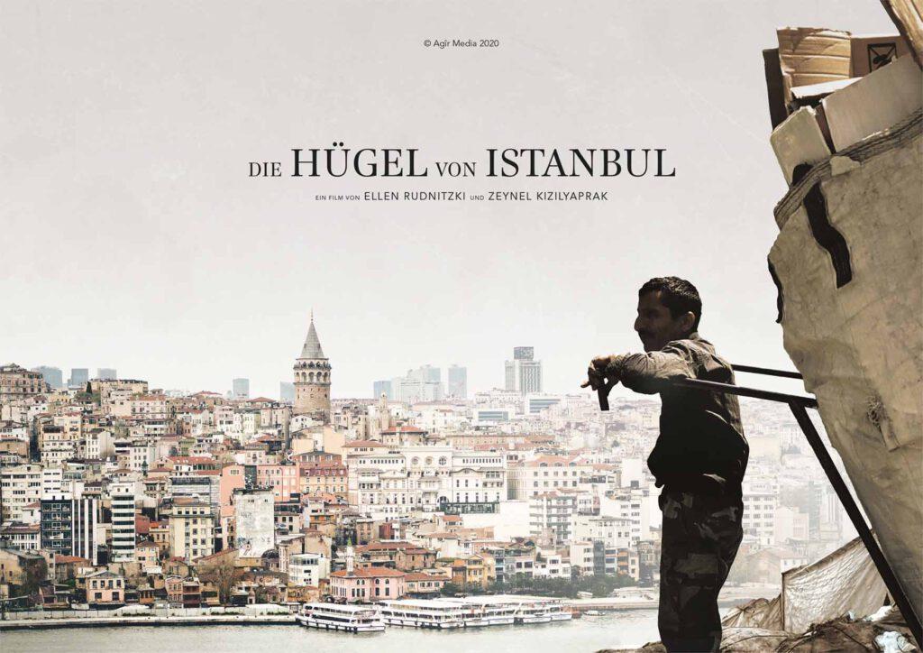 """Filmplakat """"Die Hügel von Istanbul"""""""